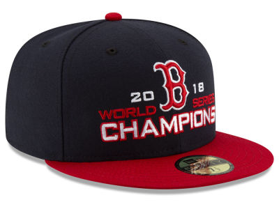 Boston Red Sox New Era 2018 MLB World Series 2 Tone 59FIFTY Cap 7a83482b9d6