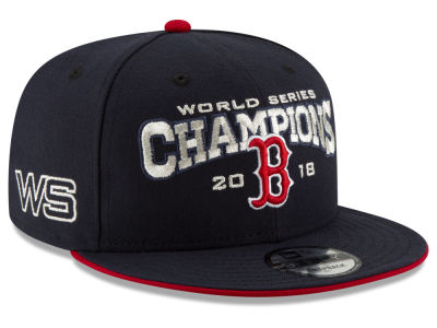 Boston Red Sox New Era 2018 MLB World Series Team 9FIFTY Snapback Cap