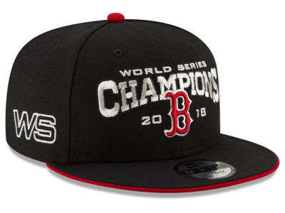 Boston Red Sox New Era 2018 MLB World Series Black 9FIFTY Snapback Cap