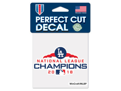 Los Angeles Dodgers Wincraft 4x4 Die Cut Decal
