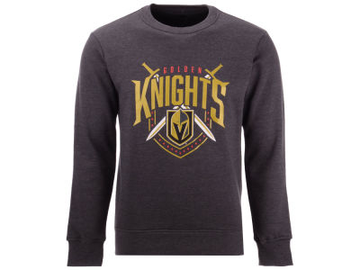 d27afed34 Vegas Golden Knights Majestic NHL Men s Bold Logo Crew Sweatshirt