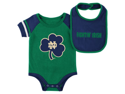 Notre Dame Fighting Irish Colosseum NCAA Newborn Onesie & Bib Set