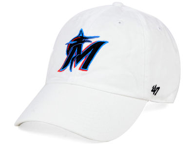 Miami Marlins '47 MLB White '47 CLEAN UP Cap
