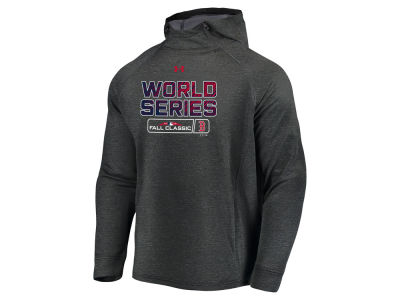 Boston Red Sox Under Armour 2018 MLB Men's World Series Bound Tech Terry Hoodie