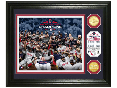 Boston Red Sox Highland Mint 2018 MLB League Champs Bronze Coin Photo Mint