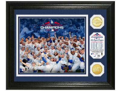 Los Angeles Dodgers Highland Mint 2018 MLB League Champs Bronze Coin Photo Mint
