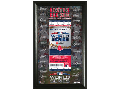 Boston Red Sox Highland Mint 2018 MLB World Series Signature Ticket