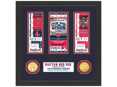 "Boston Red Sox Highland Mint 2018 MLB League Champs ""Road to the World Series"""