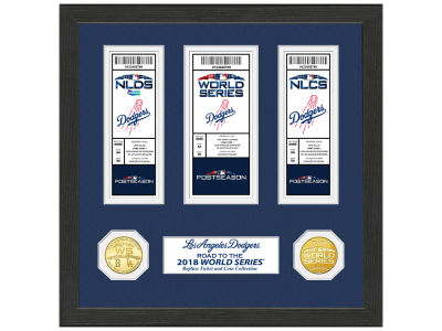 "Los Angeles Dodgers Highland Mint 2018 MLB League Champs ""Road to the World Series"""