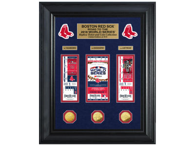 Boston Red Sox Highland Mint 2018 MLB Road to the World Series Deluxe Collection