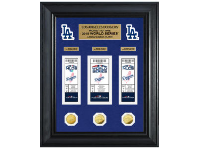 Los Angeles Dodgers Highland Mint 2018 MLB Road to the World Series Deluxe Collection