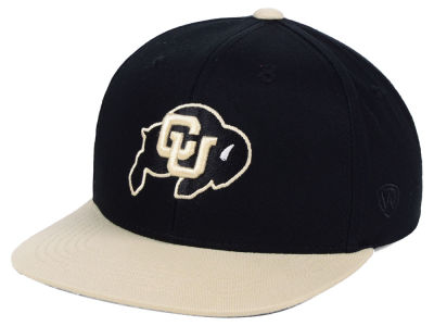 fda32d23da4 Colorado Buffaloes Top of the World NCAA Youth Maverick Snapback Cap