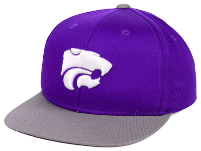 275ce82efc0 Kansas State Wildcats Top of the World NCAA Youth Maverick Snapback Cap
