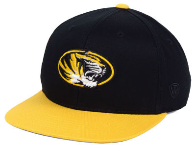 20b35d991e1 Missouri Tigers Top of the World NCAA Youth Maverick Snapback Cap