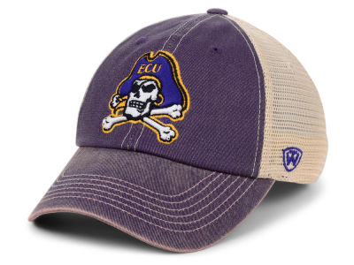 East Carolina Pirates Top of the World NCAA Wickler Mesh Cap d6994eeb51a6