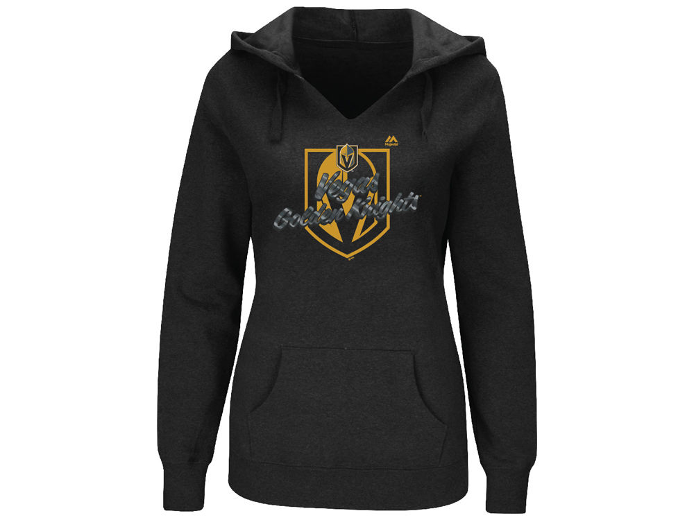 8d355e8e1 Vegas Golden Knights Majestic NHL Women s Game Day Glam Hoodie ...