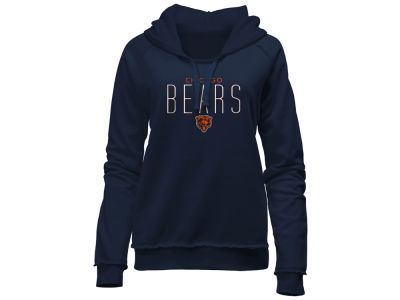 Chicago Bears 5th & Ocean NFL Women's Fleece Pullover Hoodie