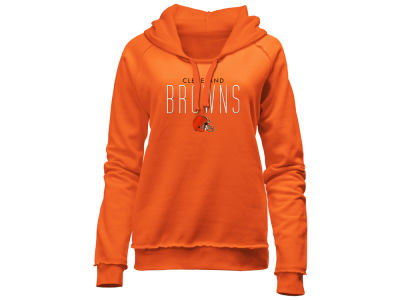 Cleveland Browns 5th & Ocean NFL Women's Fleece Pullover Hoodie