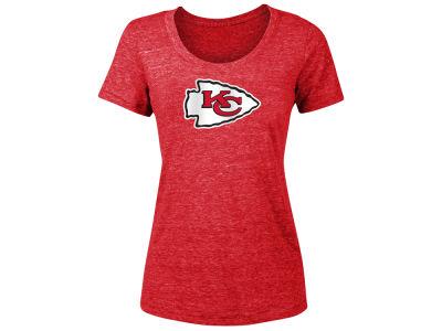 Kansas City Chiefs 5th   Ocean NFL Women s Tri-blend Logo ... 5bbf2d614
