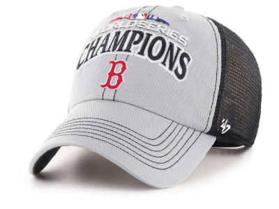 Boston Red Sox '47 2018 MLB World Series Champ Trawler CLEAN UP Cap