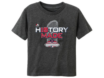 Boston Red Sox Majestic 2018 MLB Toddler World Series Champ Locker Room T-Shirt