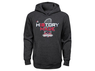 Boston Red Sox Majestic 2018 MLB Youth World Series Locker Room Hoodie