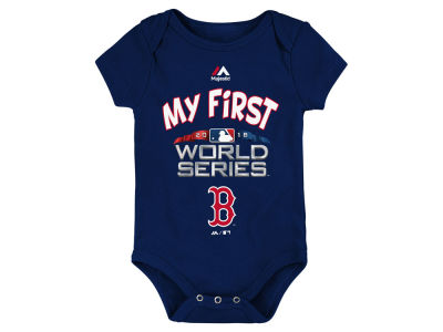 Boston Red Sox Majestic 2018 MLB Newborn My 1st World Series Creeper
