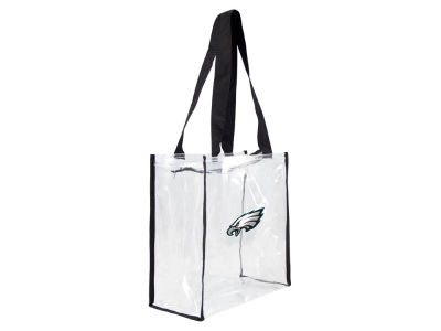 Philadelphia Eagles Little Earth Clear Square Zip Tote