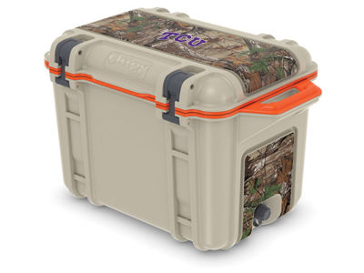 Texas Christian Horned Frogs OtterBox 45 Quart Cooler
