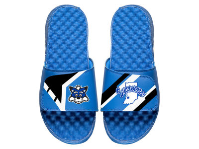 Indiana State Sycamores ISlide NCAA Varsity Jacket Sandals