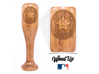 Houston Astros Dugout Mugs MLB World Series Champ Wined Up Glass