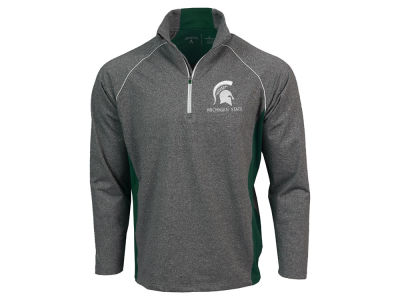 Michigan State Spartans NCAA Men's Stamina Quarter Zip Pullover