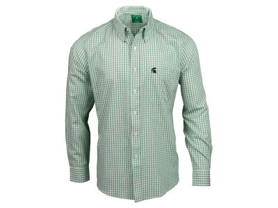 Michigan State Spartans NCAA Men's Rank Button Up Shirt