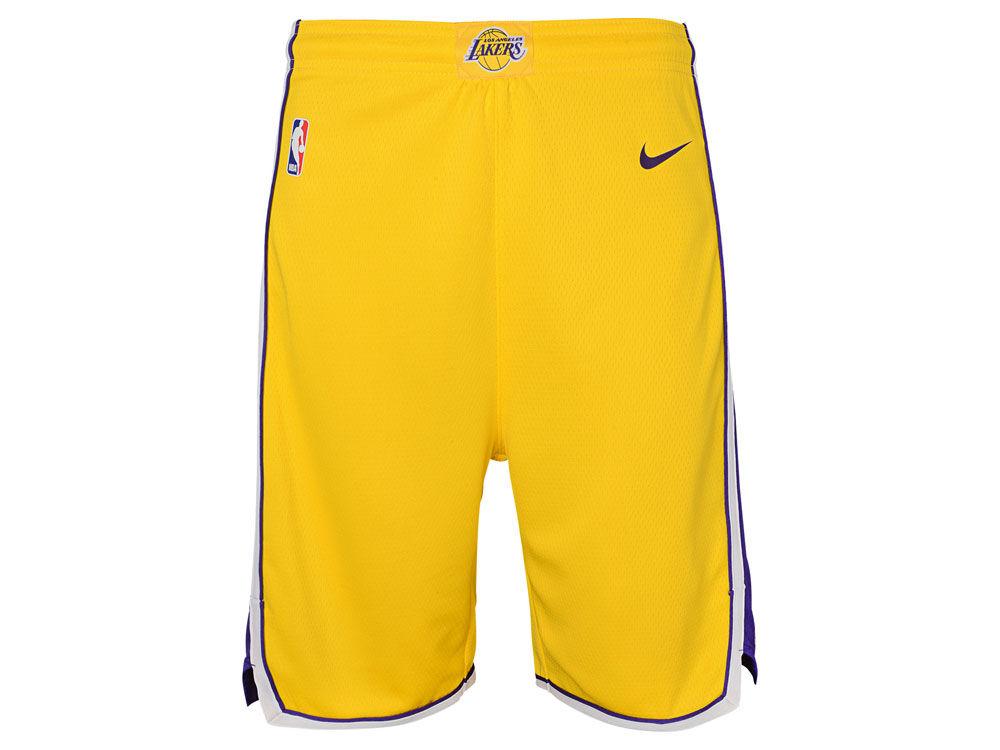 Los Angeles Lakers Nike NBA Youth Icon Swingman Short  fde7c3609