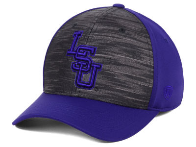 LSU Tigers Top of the World NCAA Pepper Flex Cap