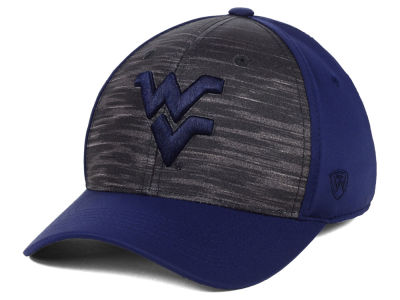 West Virginia Mountaineers Top of the World NCAA Pepper Flex Cap