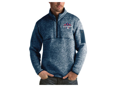Boston Red Sox Antigua 2018 MLB Men's World Series Champ Fortune Quarter Zip