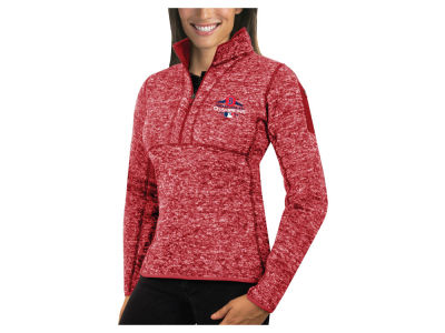 Boston Red Sox Antigua 2018 MLB Women's World Series Champ Fortune Quarter Zip Pullover