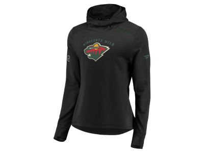 Minnesota Wild Majestic NHL Women's Authentic Pro Rinkside Hoodie
