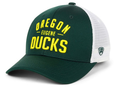 Oregon Ducks Top of the World NCAA Trainer Mesh Cap
