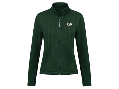 Green Bay Packers G-III Sports NFL Women's Poly Full Zip Jacket