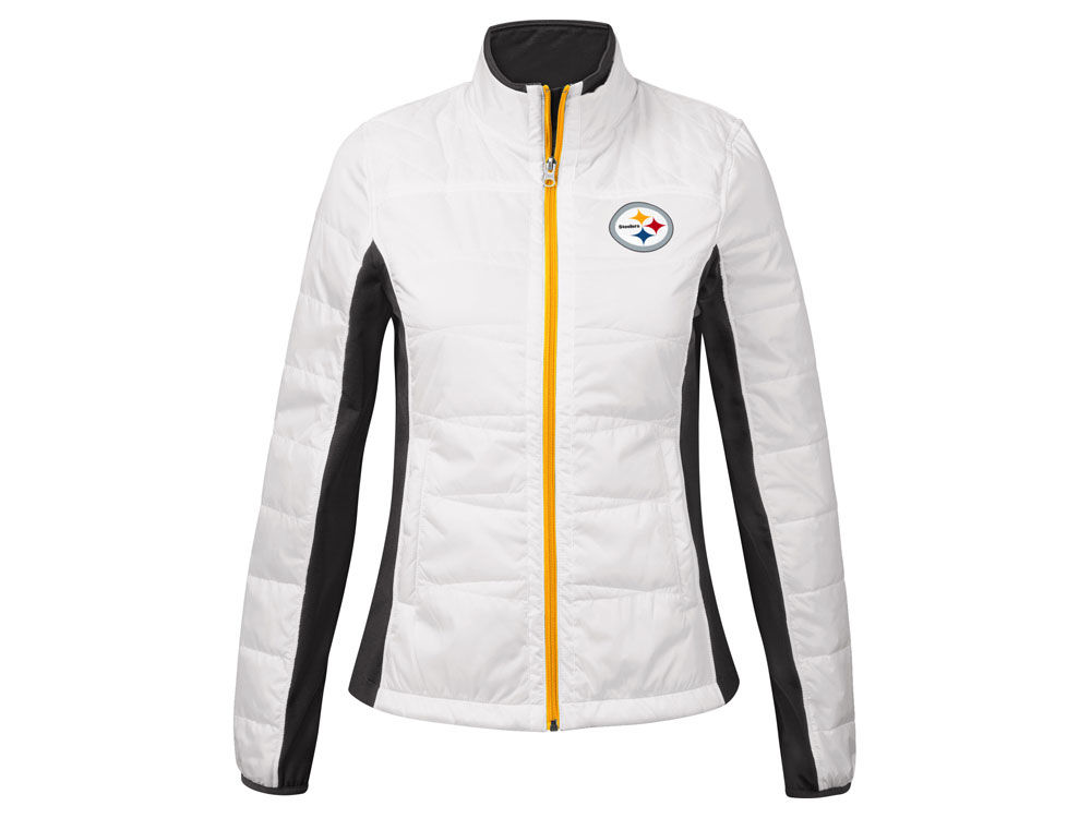 Pittsburgh Steelers G-III Sports NFL Women s Poly Lightweight Jacket ... 684958b9a