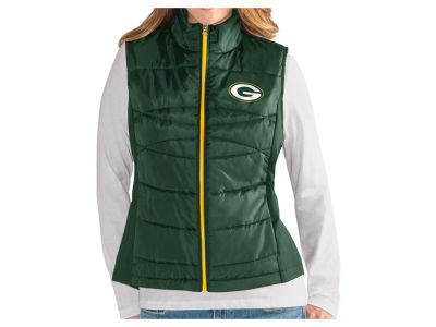 Green Bay Packers G-III Sports NFL Women's Team Poly Vest