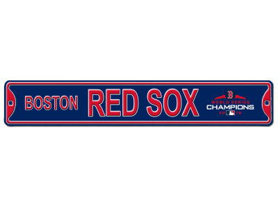 Boston Red Sox Authentic Street Signs 2018 MLB World Series Champ Street Sign
