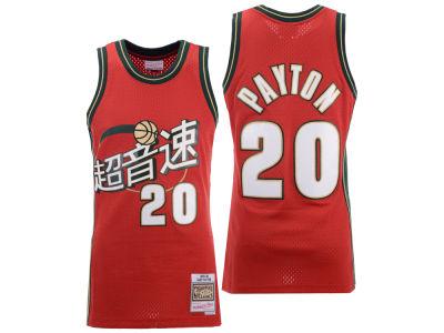 68d70cbe78d Seattle SuperSonics Gary Payton Mitchell   Ness NBA Chinese New Year  Swingman Jersey