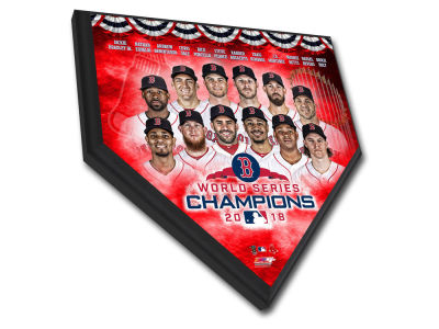 Boston Red Sox Photo File 2018 MLB World Series Champs Home Plate Plaque