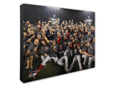 "Boston Red Sox Photo File 2018 MLB World Series Team Celebration 16"" x 20"" Canvas"