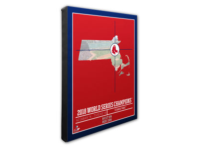 Boston Red Sox Photo File 2018 MLB World Series Champs Stadium/Coordinate 16x20 Canvas