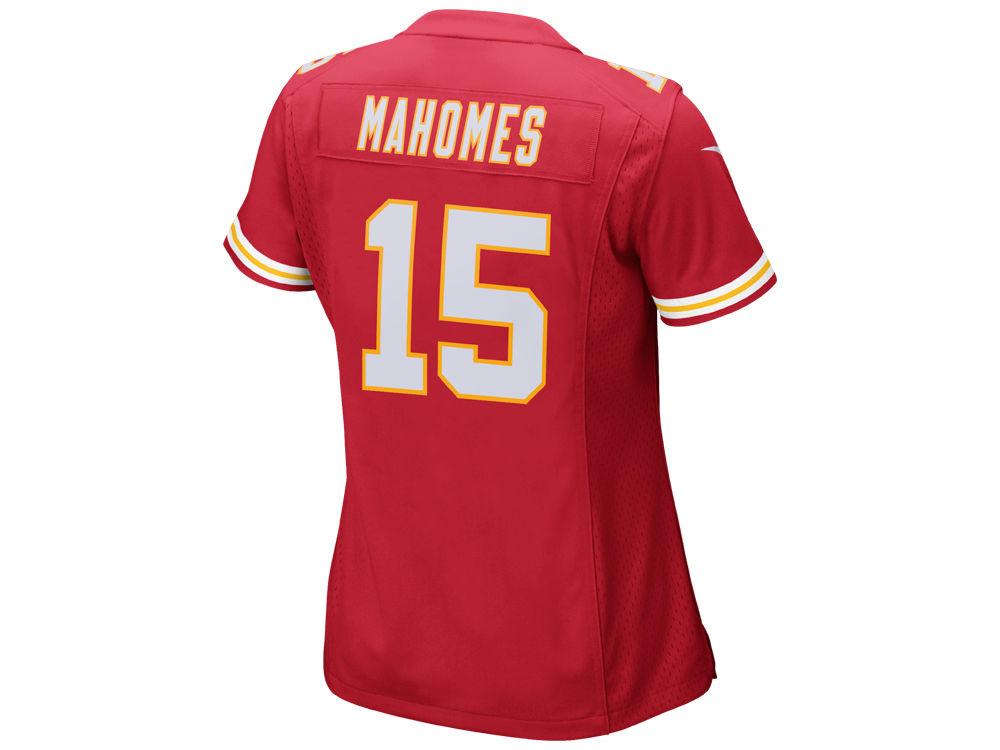 Kansas City Chiefs Pat Mahomes Nike NFL Women s Game Jersey  adee1365f