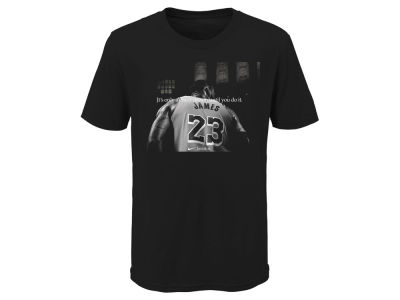 Los Angeles Lakers LeBron James Nike NBA Youth Crazy Dream T-Shirt